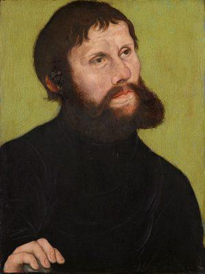 Lucas Cranach. Luther als Junker Jörg.