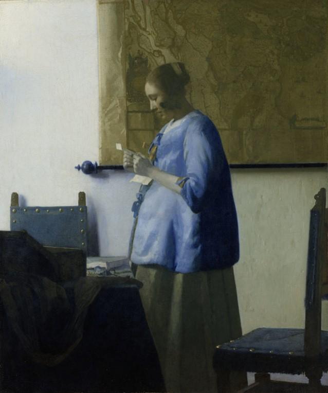 Vermeer: Briefeleserin aus dem Rijksmuseum als Symbolbild für die richtige Ansprache bei Blogger Relations