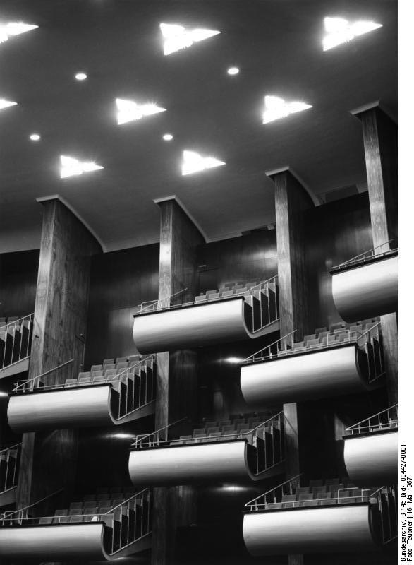 Köln Opernhaus - Ränge