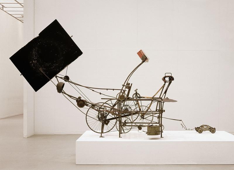 Jean Tinguely Le Cyclograveur, 1960, Kunsthaus Zürich, Geschenk des Künstlers, 1986