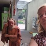 Selfie im Neanderthal Museum