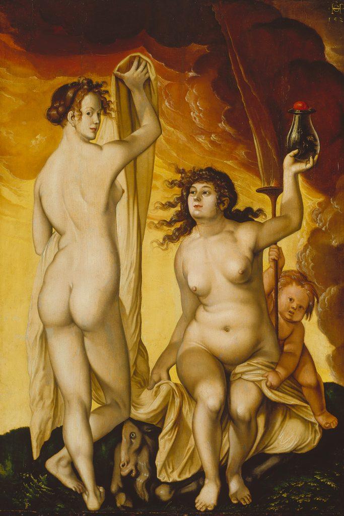 Zwei Hexen. 1523. Städelmuseum